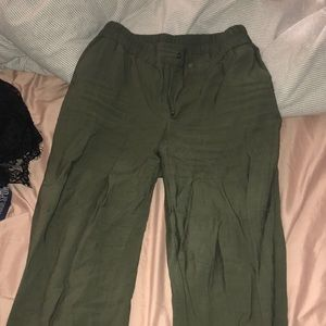 GREEN A NEW DAY CARGO PANTS